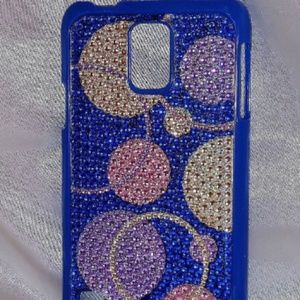 Rhinestone Circle Design Samsung Galaxy S5 Case
